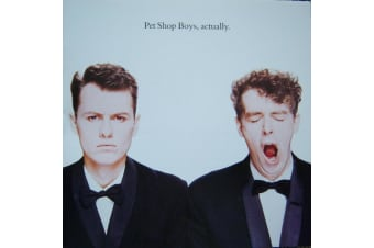 Pet Shop Boys ‎– Actually PRE-OWNED CD: DISC EXCELLENT