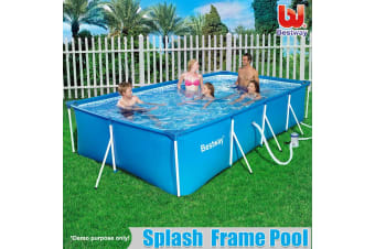 Bestway Above Ground Swimming Pool   Blue