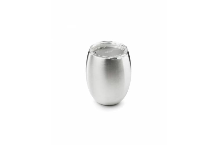 GSI Glacier Stainless Double Wall Wine Glass Partyware