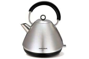Morphy Richards Accents 1.5L Electric Cordless Kettle Brushed Stainless Steel