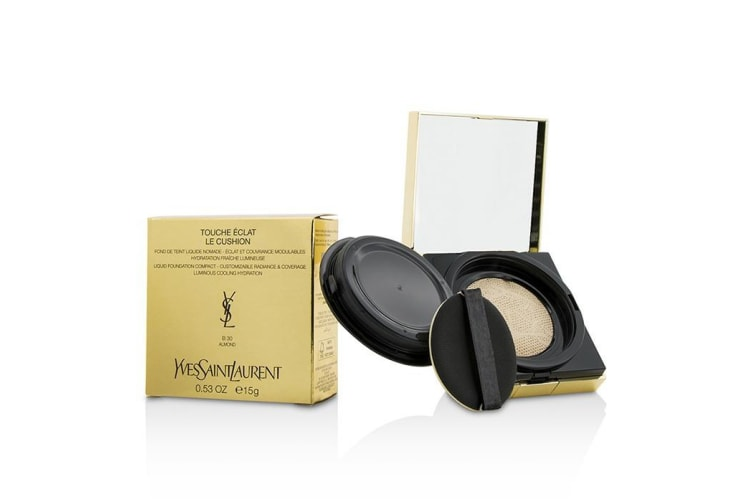 Yves Saint Laurent Touche Eclat Le Cushion Liquid Foundation Compact - #B30 Almond 15g/0.53oz