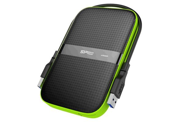 """Silicon Power Armor A60 Shock Resistant 2TB HDD 2.5"""" USB 3.0"""