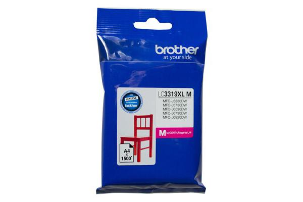 Brother Ink Cartridge LC3319XLC  - Magenta- Inkjet - High Yield 1500 Pages