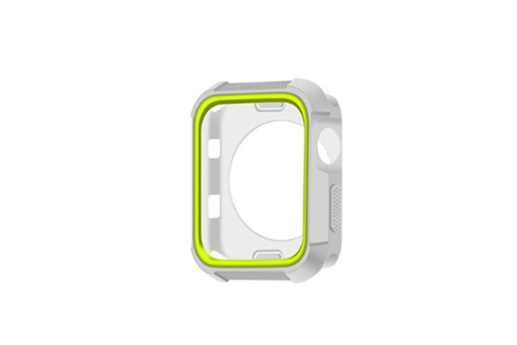 Case Suitbale For Apple Watch Series1/2/3/4,Shatter Resistance Protective Case Grey Green 44Mm