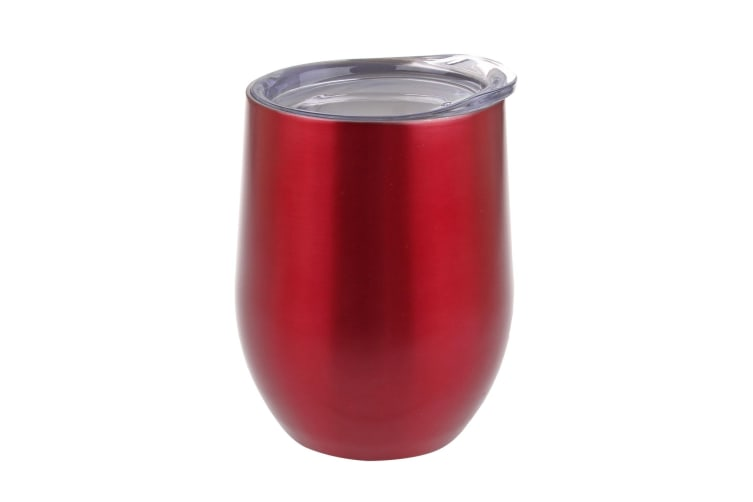 Oasis Double Wall Insulated Wine Tumblers 330ml - Red