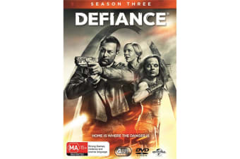 Defiance Season 3 DVD Region 4