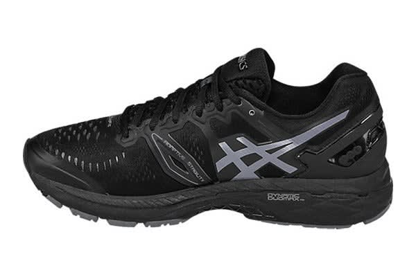ASICS Men's Gel-Kayano 23 (Black/Onyx/Carbon, Size 12)