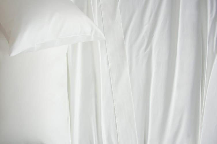 Ardor Luxury 2500TC Cotton Rich Sheet Set (White/Queen)