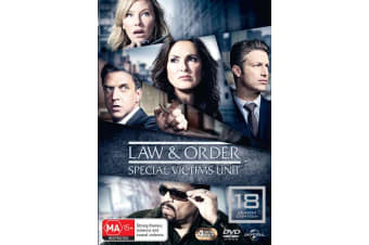 Law and Order Special Victims Unit Season 18 DVD Region 4