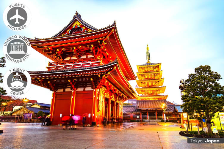 CHINA & JAPAN: 17 Day Oriental China Tour & Japan Cruise Including Flights for Two (Departing PER/ADL)