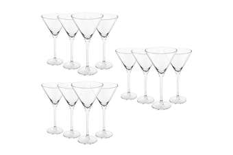 12pc Royal Leerdam 260ml L'Esprit Martini Glasses Margarita Cocktails Drinks Bar