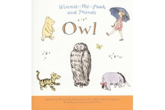 Winnie The Pooh - Owl  - Illustrated by Andrew Grey