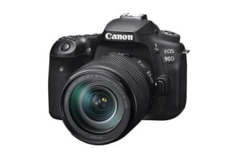 New Canon EOS 90D EF-S 18-135mm f/3.5-5.6 IS USM Lens Digital SLR Camera (FREE DELIVERY + 1 YEAR AU WARRANTY)
