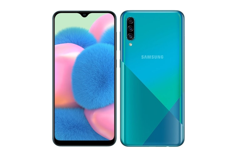 Samsung Galaxy A30s Dual SIM (3GB RAM, 32GB, Prism Crush Green)