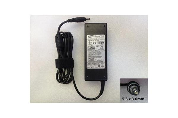 Samsung OEM Notebook Power Adapter/Charger  19V 4.74A 90W (5.5x3.0mm)(Power cord not included) 12
