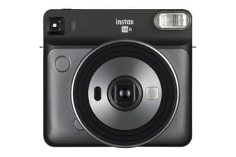 FujiFilm Instax Square SQ6 Instant Camera Graphite Gray creative