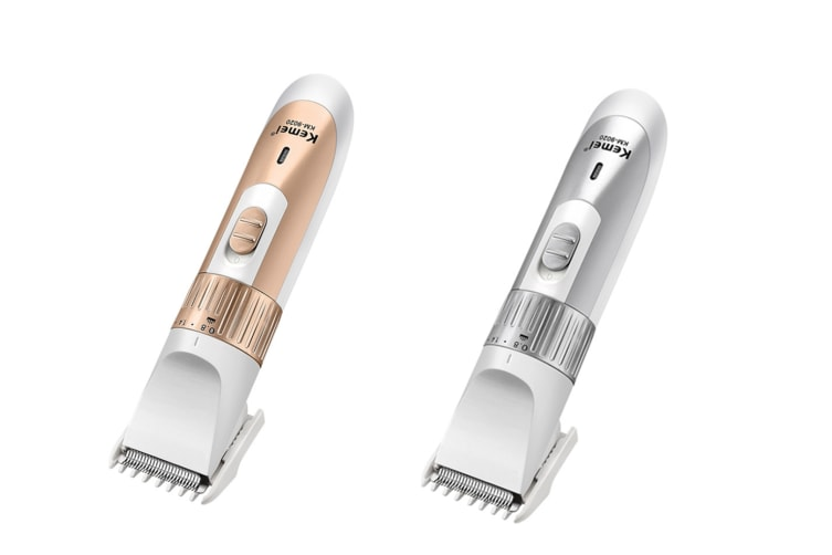 Hair Clipper Dry Charge Dual-Use Shaver Adult Children Universal Silver