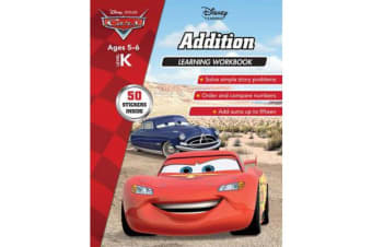Disney Cars - Addition Learning Workbook Level K