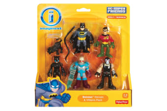 Imaginext DC Super Friends Batman Heroes And Villains Pack