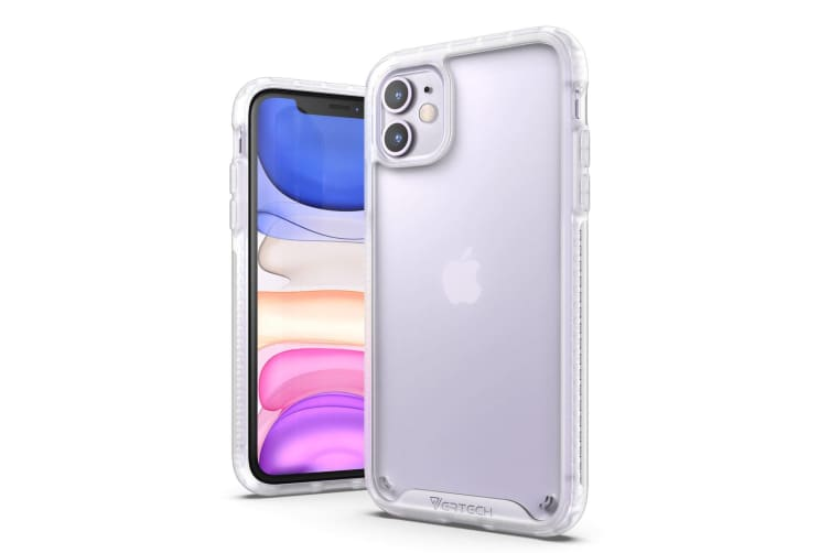 VERTECH Ultra Hybrid Shockproof Slim Hard Cover for iPhone 11-Frost White