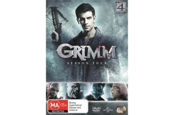 Grimm Season 4 DVD Region 4