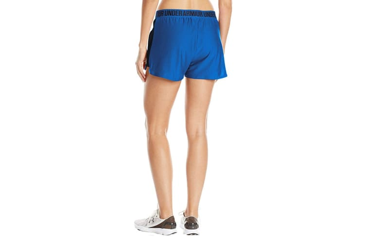 Under Armour Women's Play Up 2.0 Shorts (Lapis Blue/Midnight Navy, Size Extra Small)