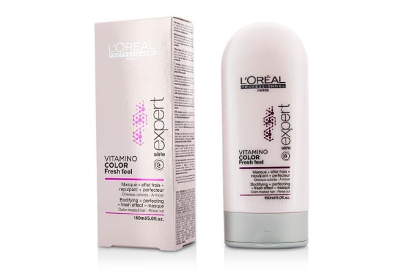 L'Oreal Professionnel Expert Serie - Vitamino Color Fresh Feel Bodifying + Perfecting <Fresh Effect> Masque - Rinse Out (150ml/5oz)