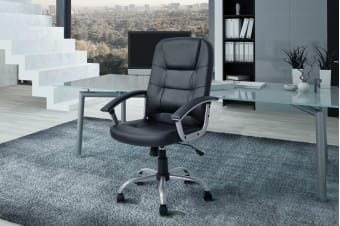 Ergolux Berkeley High Back Padded Office Chair
