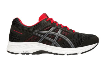ASICS Men's Gel-Contend 5 Running Shoe (Black/Metropolis, Size 8.5 US)