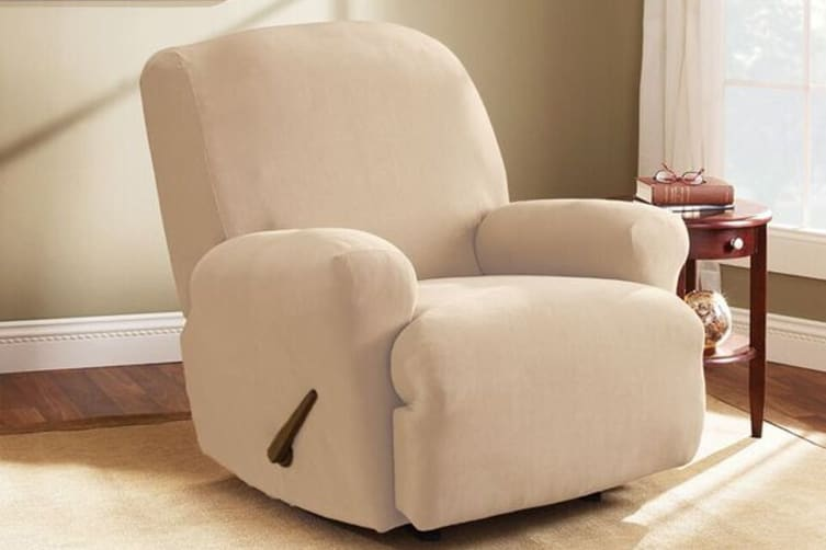 SureFit Pearson Recliner Cover (Ivory)