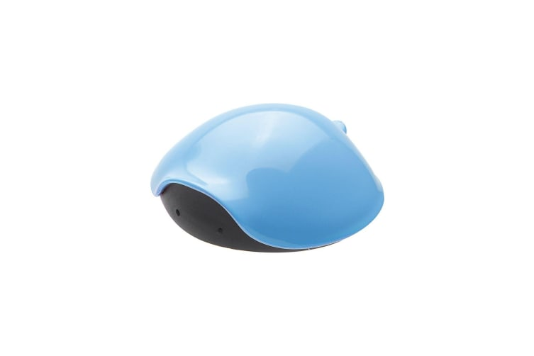 United Pets Turtle Shell Shaped Pet Food Can Lid (Blue) (9 x 8.5 x 3cm)