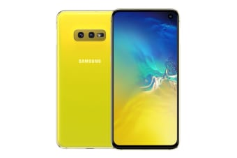 Samsung Galaxy S10e (6GB RAM, 128GB, Canary Yellow) - AU/NZ Model