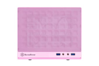 Silverstone SG 13 Pink ITX Tower Case Front Mesh Panel