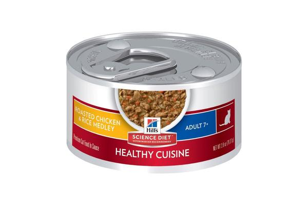 Hills Science Diet Mature Roasted Chicken Rice Medley Cans - 24 Cans