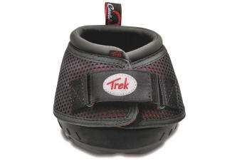 Cavallo Trek Regular Sole Touch Fastening Horse Boot (Red) (1)