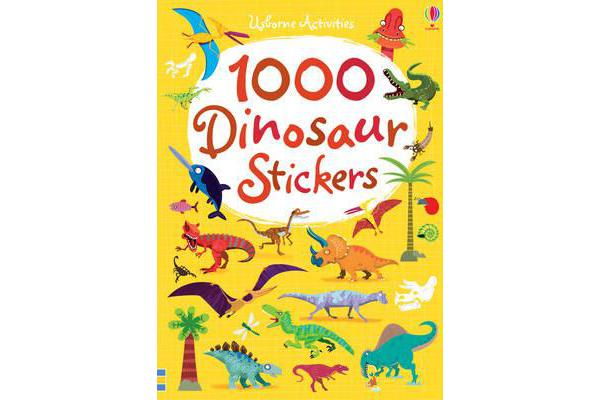 Image of 1000 Dinosaur Stickers