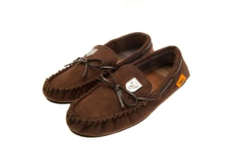 Hull City AFC Mens Moccasins (Brown) (11/12 UK)