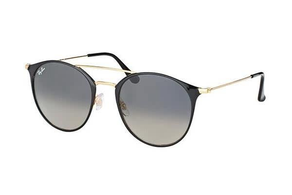 eaa35eae80 Ray-Ban RB3546 - Gold Black (Crystal Grey Shaded lens)   52--20--145 ...