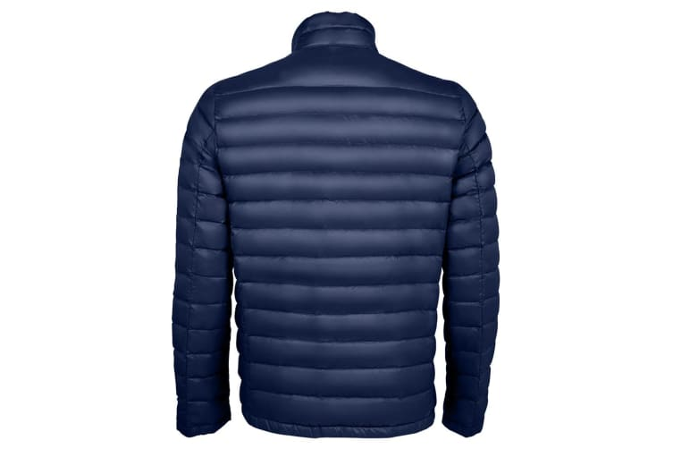 SOLS Mens Wilson Lightweight Padded Jacket (French Navy) (XL)