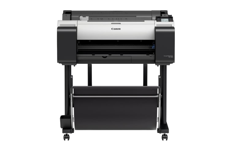 """Canon IPFTM-200 24"""" 5 COLOUR GRAPHICS LARGE FORMAT PRINTER WITH STAND, LEI24"""
