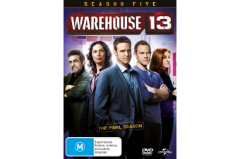 Warehouse 13 Season 5 DVD Region 4
