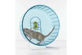 Savic Rolly Rodent Exercise Wheel And Stand (Blue)