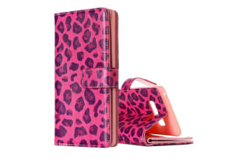 For Samsung Galaxy Note 8 Wallet Case Stylish Leopard Leather Protective Cover