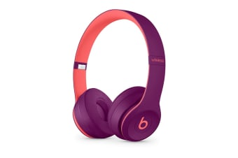 Beats Solo3 Wireless Headphones (Pop Magenta)