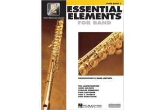 Essential Elements 2000 - Flute Book 1 (Book/CD-ROM)