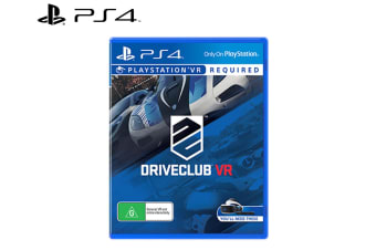 Sony PlayStation VR Driveclub Car Driving/Racing Virtual Reality Game for PS4