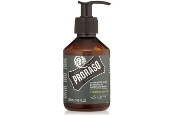 Proraso Beard Wash 200ml - Cypress And Vetyver