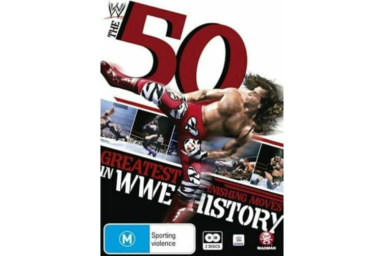WWE - 50 Greatest Finishing Moves In WWE History  Region 4