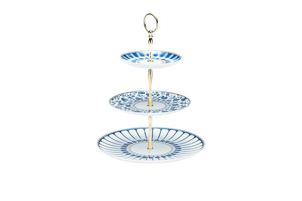 Salt & Pepper Palais 3 Tier Cake Stand