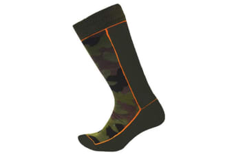 XTM Kid Unisex Socks Trooper Kids Sock Army Camo - 5-8